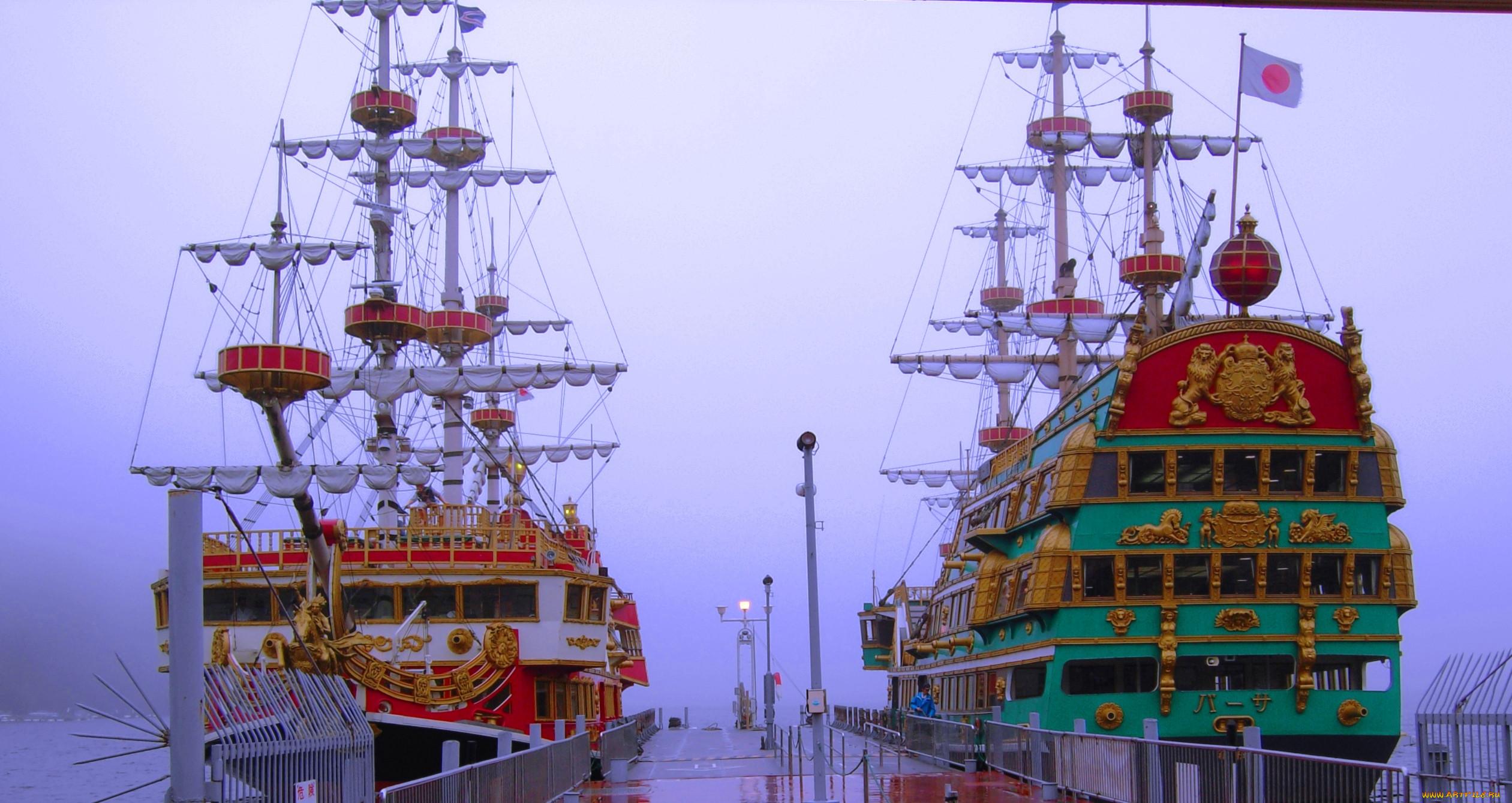 Парусные корабли обои для рабочего стола 8